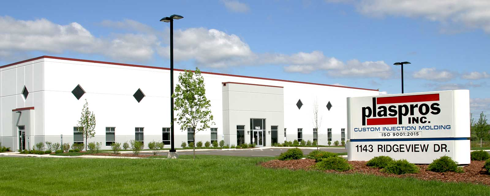 Plaspros headquarters in McHenry, IL